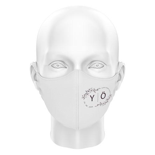 Düğünlere Özel Dijital Maske 01