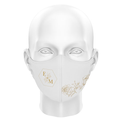 Düğünlere Özel Dijital Maske 04