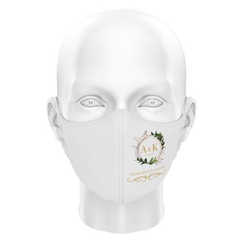 Düğünlere Özel Dijital Maske 07