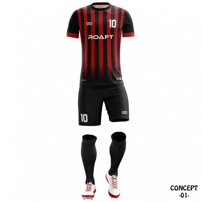 AC Milan 2016-17 Soccer Team Jersey