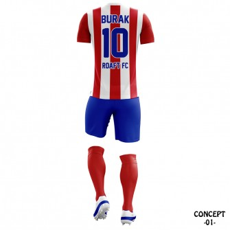 Atletico Madrid 2016-17 Soccer Team Jersey