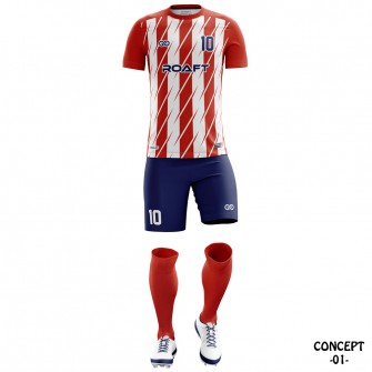 Atletico Madrid 2017-18 Soccer Team Jersey