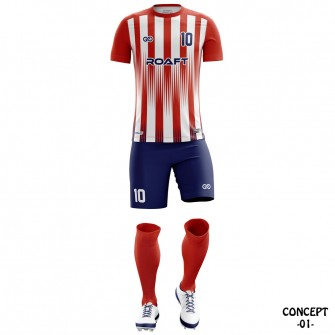 Atletico Madrid 2018-19 Soccer Team Jersey