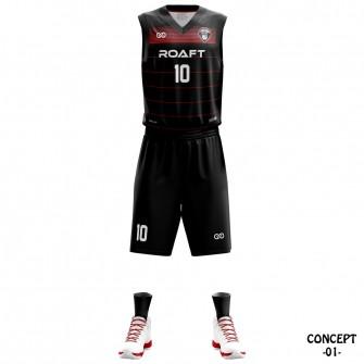 Bayer Leverkusen 2016-17 Basketball Team Jersey
