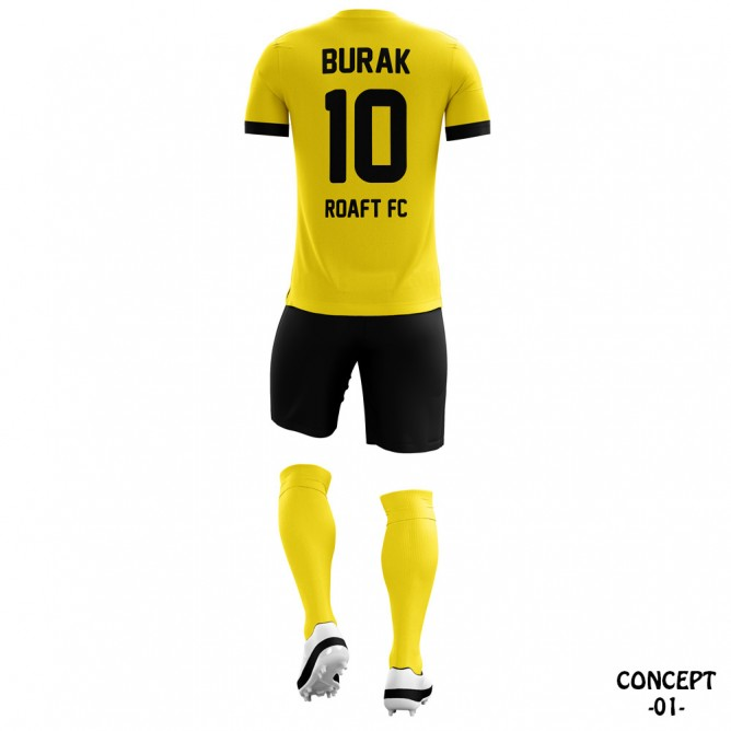 Borussia Dortmund 2012-13 Soccer Team Jersey