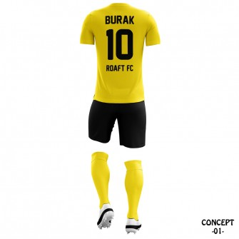 Borussia Dortmund 2016-17 Soccer Team Jersey