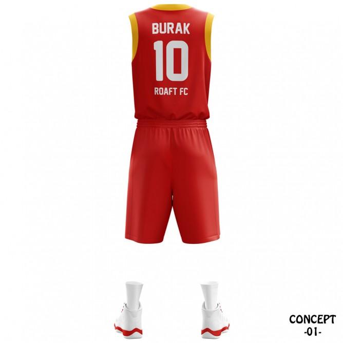 Espana Yellow Basketball Team Jersey
