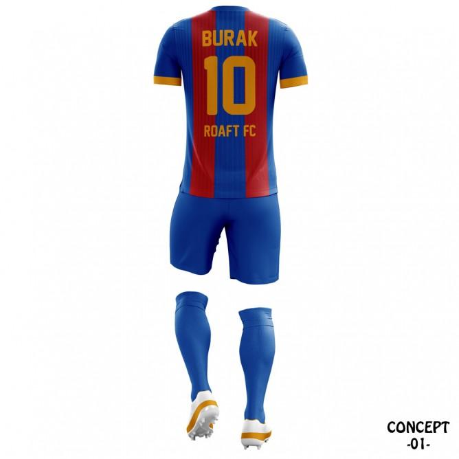 FC Barcelona 2016-17 Soccer Team Jersey