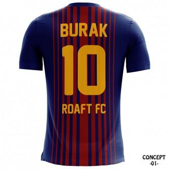 FC Barcelona 2017-18 Soccer Jersey