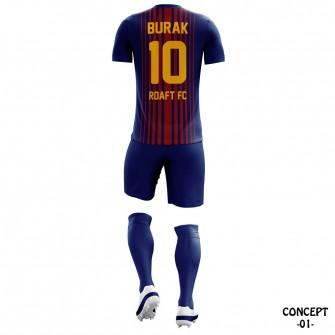 FC Barcelona 2017-18 Soccer Team Jersey