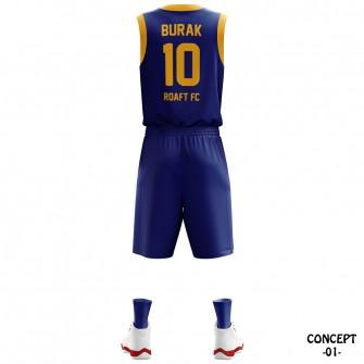 FC Barselona Basketball Team Jersey