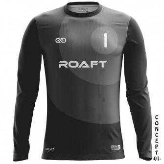 Round Soccer Goalkeeper Jersey