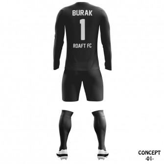 Round Soccer Team Goalkeeper Jersey